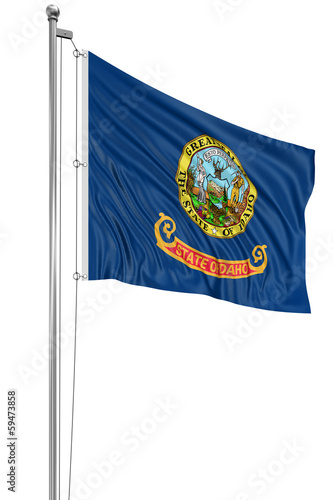 3D Idaho Flag