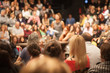 Leinwanddruck Bild - public lecture