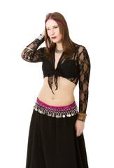 belly dancer alluring