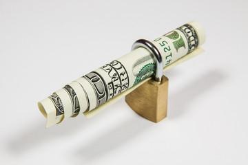 Dolar w kłódce