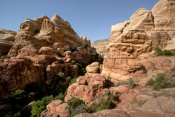Landscape of Dana National Park, Jordan