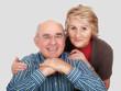 Life Happy elderly couple
