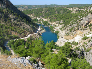 Turkey. Green Canyon
