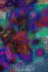 multicoloured panel