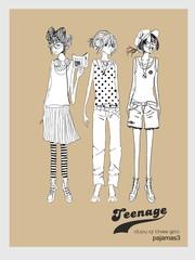 story-of-three-girls