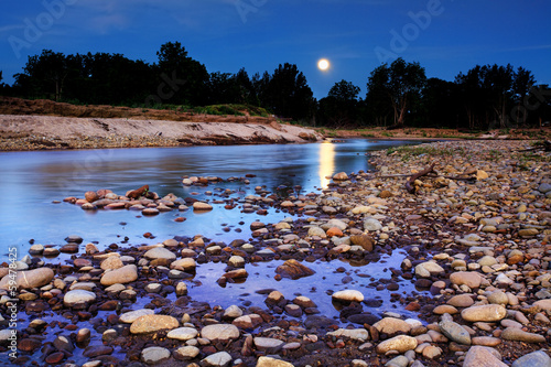 Moonrise over Yarramundi Australia
