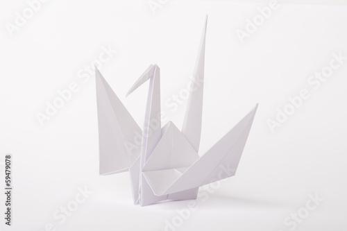 Papiers peints Cygne ORIGAMI OISEAU GRUE