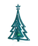 Christmas toy with stars isolated