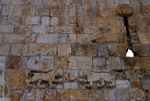 The Lion Gate, Jerusalem, Israel
