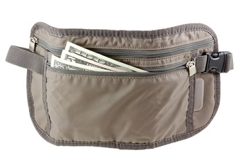 Anti-theft Travel pouch, waist bag