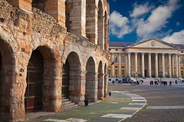 Verona - Arena and Comune di Verona building