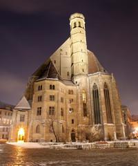 Vienna - Minoriten gothic church from east