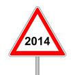 Achtung Schild 2014