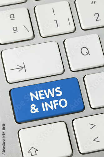 News & info. Keyboard