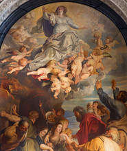 Antwerpia - Wniebowzięcie Najświętszej Marii Panny po Rubensa