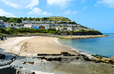 Beach of New Quay – Wales, United Kingdom