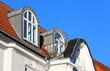 Runddachgauben mit Balkon