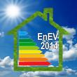 Haus mit Wiese und EnEV 2014
