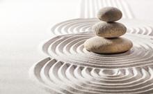 concept de silence zen