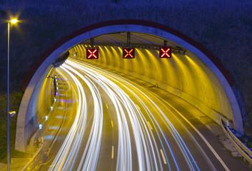 Motorway A1 - E5, in passing through Renteria.