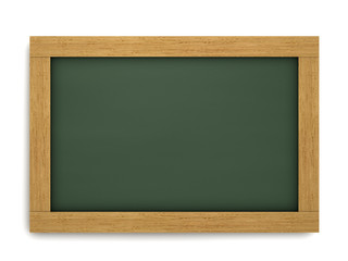 Empty School Chalkboard