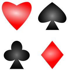 Spielkarten Spielkarte  #131217-svg01