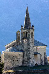 Chiesa di Moron - Valle d'Aosta - XV secolo