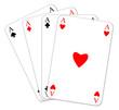 Spielkarten Spilekarte  #131217-svg03