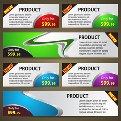 Sale Cards Vector