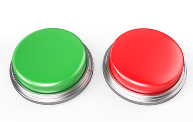 Green and Red Button