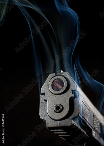 Smoking handgun