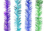 Glitter Rainbow Stripes for Christmas Decoration