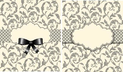 Vintage background, vector illustration
