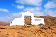 Fuerteventura landscape.