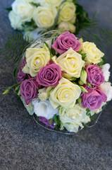 Brautstrauß Pink Beige