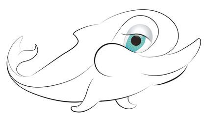 Sevimli Yunus Balığı