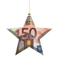 Etoile de noël 50 euros
