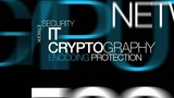 IT cryptography encryption protection word tag cloud video