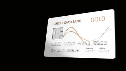Credit Card Animation with Alpha