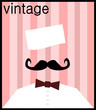 retro soda jerk waiter with bow tie
