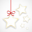 Etiquettes en forme d'étoile (joyeuses fêtes noël joyeux)