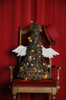 Christmas tree winged Albero di Natale alato 聖誕樹翅