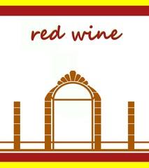etichetta vino rosso