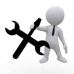 Werkzeug oder Einstellungen