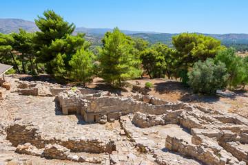 Palace of Phaistos. Crete, Greece