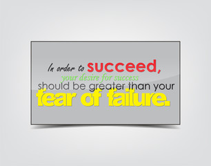 Success motivational Background