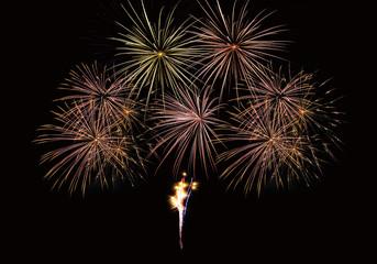 Feu artifice firework composition
