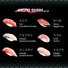 Nigiri sushi VI
