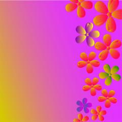 фон цветочная открытка