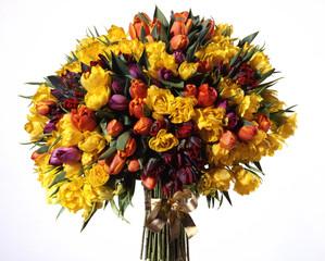 Großer bunter Blumenstrauß